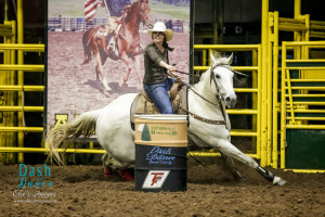 1st Place in the 2D in the Northern Hills Homes and RV's Open 4D goes to Cami Bauer on Shake Em Dyna