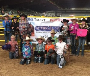 Our 3D Youth division sponsored by Myers Training Stables, than you to everyone who entered!!